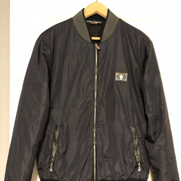 on sale classic chic official sale Men's Dolce & Gabanna bomber jacket